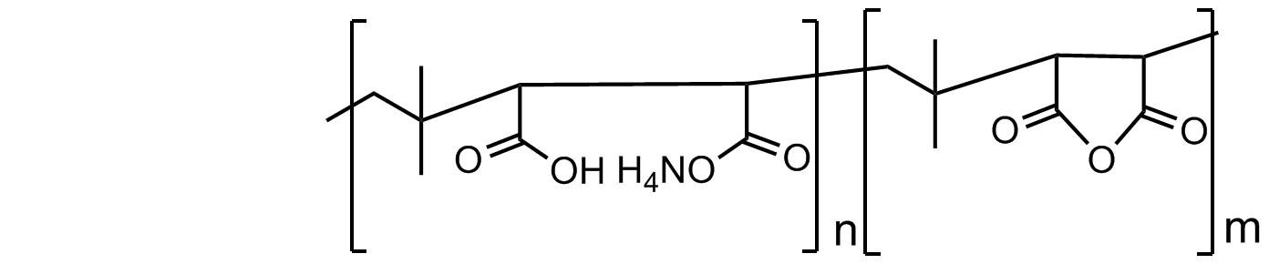 聚[(异丁烯-alt-马来酸,铵盐)-co-(异丁烯-alt-马来酸酐)]