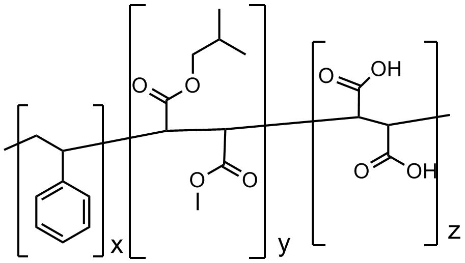 聚(苯乙烯-co-马来酸)部分异丁酯,甲酯混合物