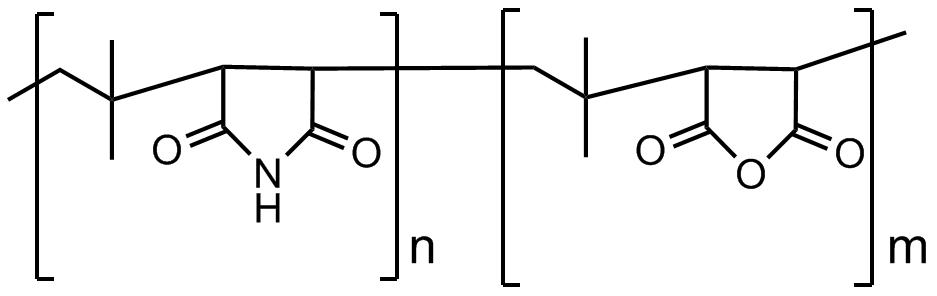聚[(异丁烯-alt-马来酰亚胺)-co-(异丁烯-alt-马来酸酐)]