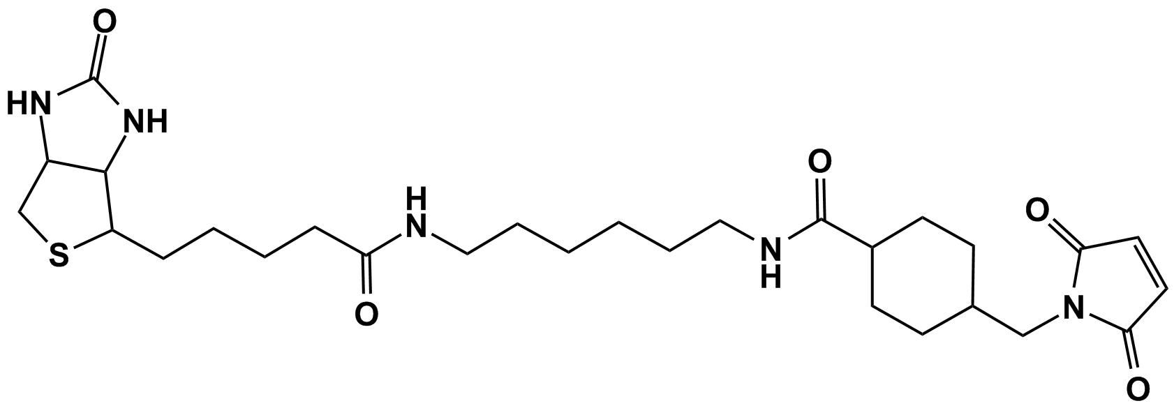 1-生物素酰氨基-6-[4`-(马来酰亚胺基甲基)环己基碳酰亚胺]己烷