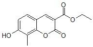 7-羟基-8-甲基香豆素-3-羧酸乙酯