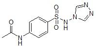 N-(4-N'-乙酰氨基苯磺酰)-4-氨基-1,2,4-三氮唑