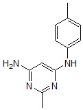 N-(4-氯苯基)-2-甲基-嘧啶-4,6-二胺