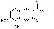 7,8-二羟基香豆素-3-羧酸乙酯