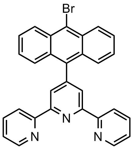 4'-(9-溴蒽-10-基)-2,2':6',2''-三联吡啶