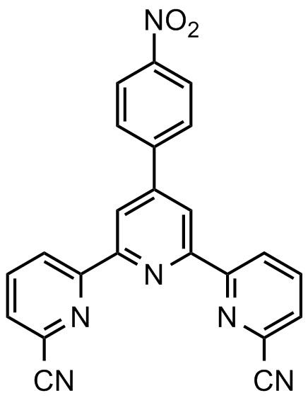 4'-(4'''-硝基苯基)-2,2':6',2''-三联吡啶-6,6''-甲腈