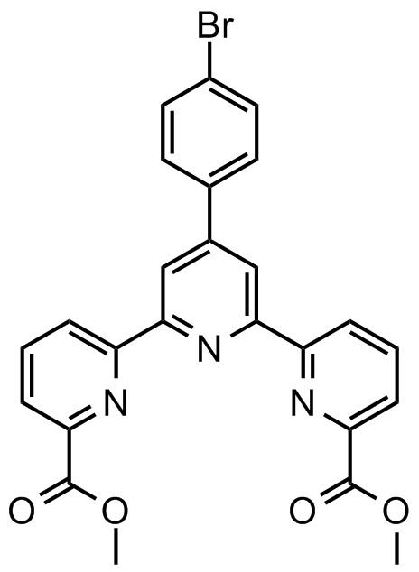 4'-(4'''-溴苯基)-2,2':6',2''-三联吡啶-6,6''-二甲酸甲酯