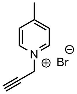 1-炔丙基-4-甲基吡啶鎓溴化物